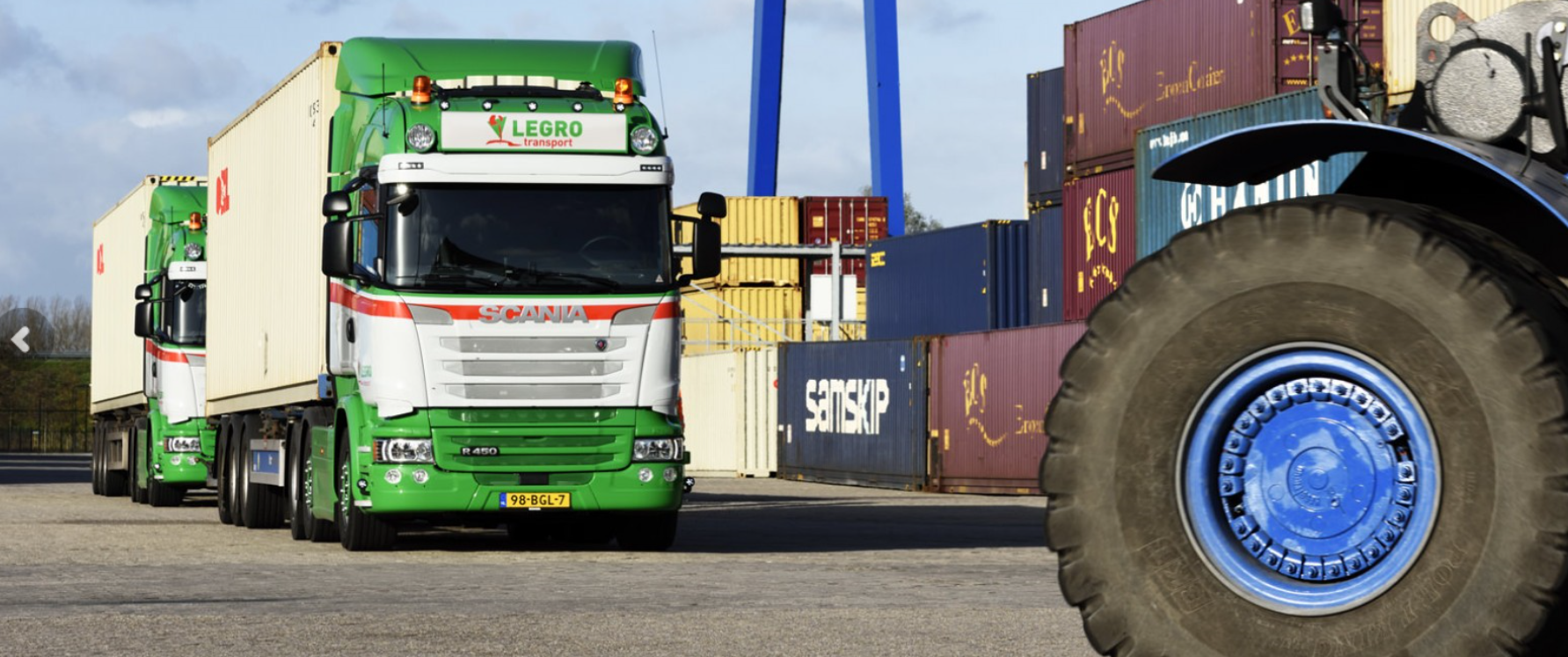 Scania-met-Container