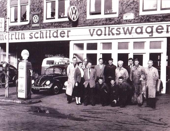 VW-Dealer--Martin-Schilder-Stations-Straat-Alkmaar-1956