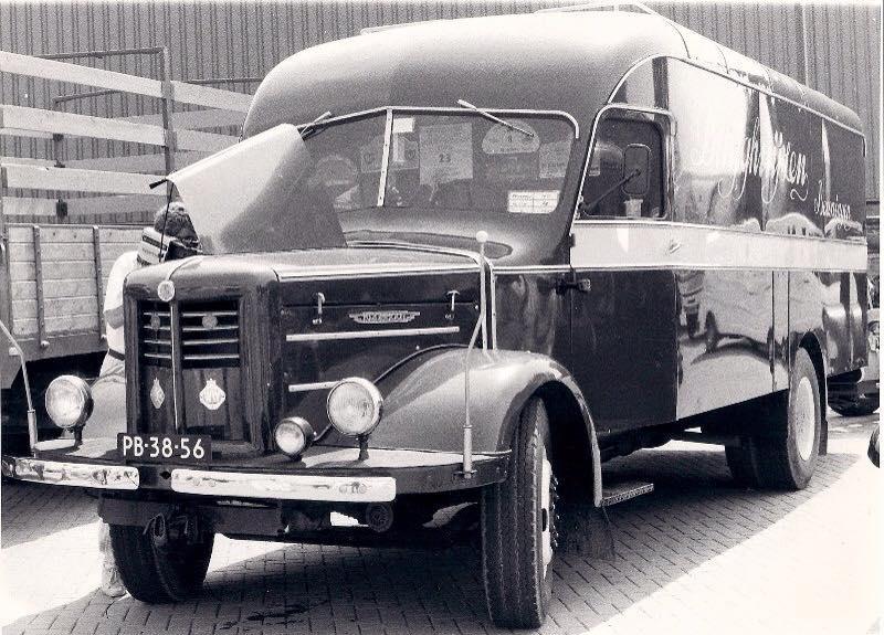 Kromhout-kastenwagen