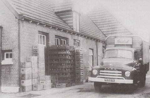 Grolsch-agent-met-Opel-Blitz