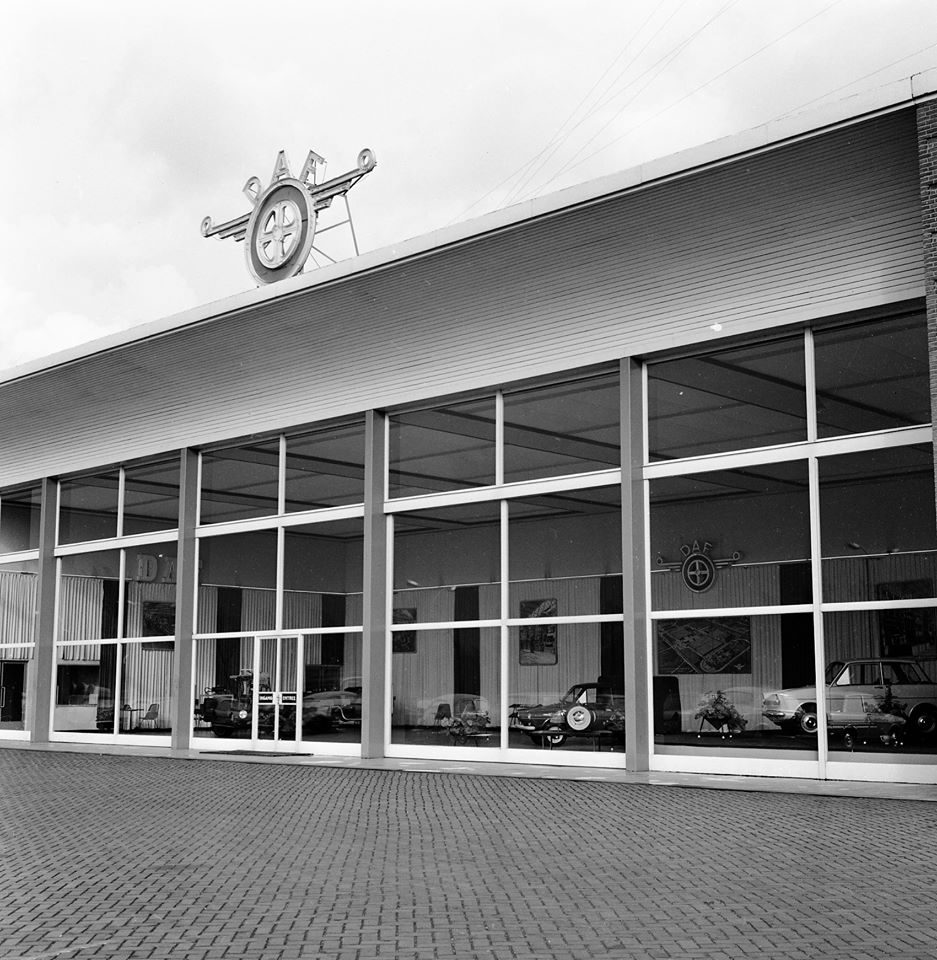 DAF-showroom