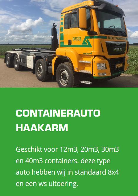 MAN-Container-wagen