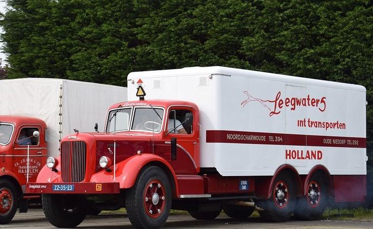 Mack-6X4-koelwagen