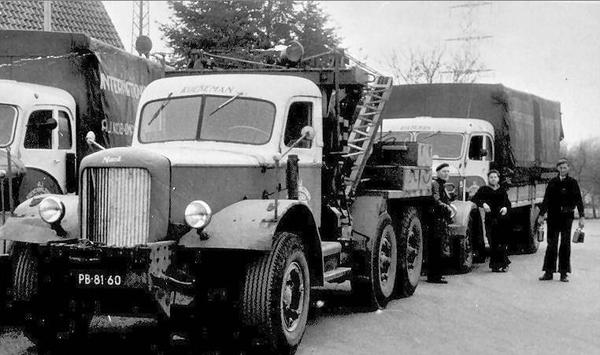Mack-Kraanwagen