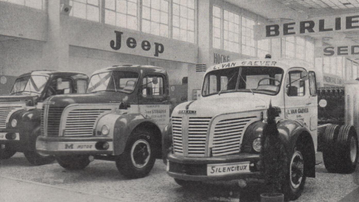 Berliets-voor-Van-Gaever-en-Jean-Strauss-Salon-van-Brussel-in-1960