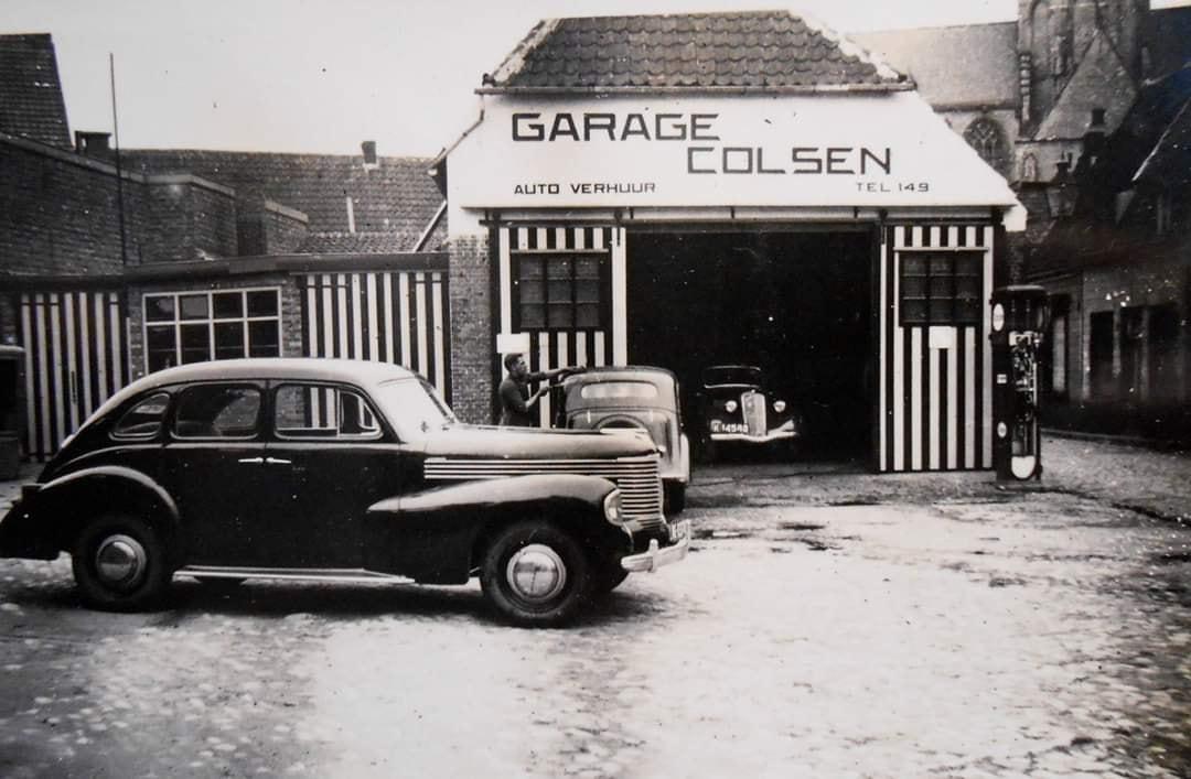 Opel-dealer-Garage-Colsen-Hulst--ca-1950--2