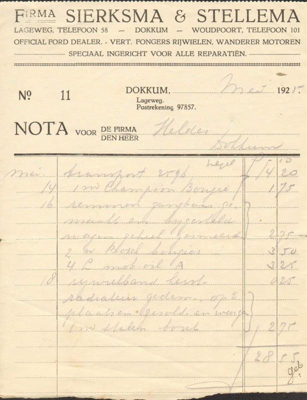 factuur-mei-1925