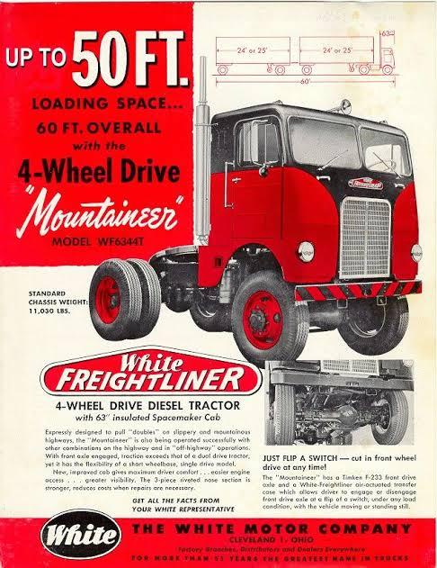 Freightliner---White-4X4-