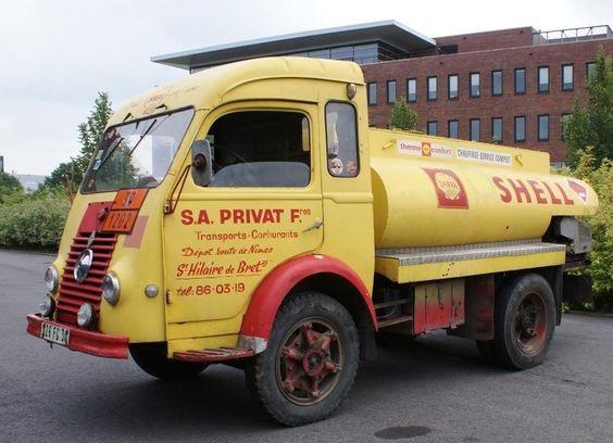 Renault-tankwagen
