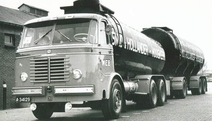 Kromhout-tankwagen