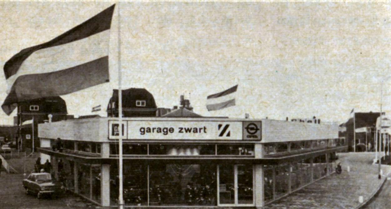 Opel-Dealer-Garage-Zwart-Wormerveer-1977--
