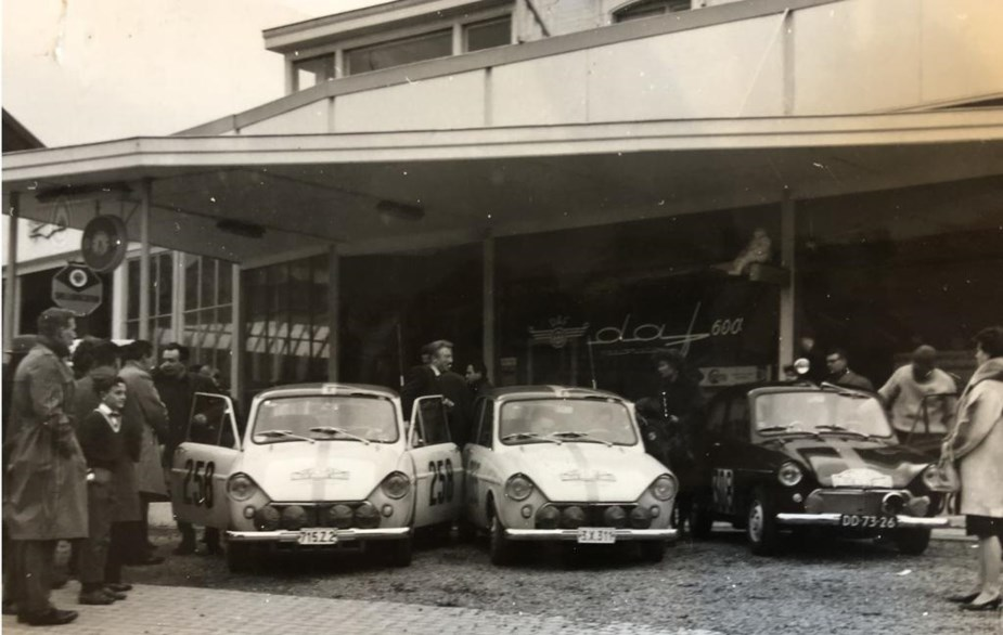 Daf-Dealer-Andre-Ransy-klaar-voor-rally-Monte-Carlo-1962-258-Andre-Ransy-265-Cilnet-308-Blansjaar
