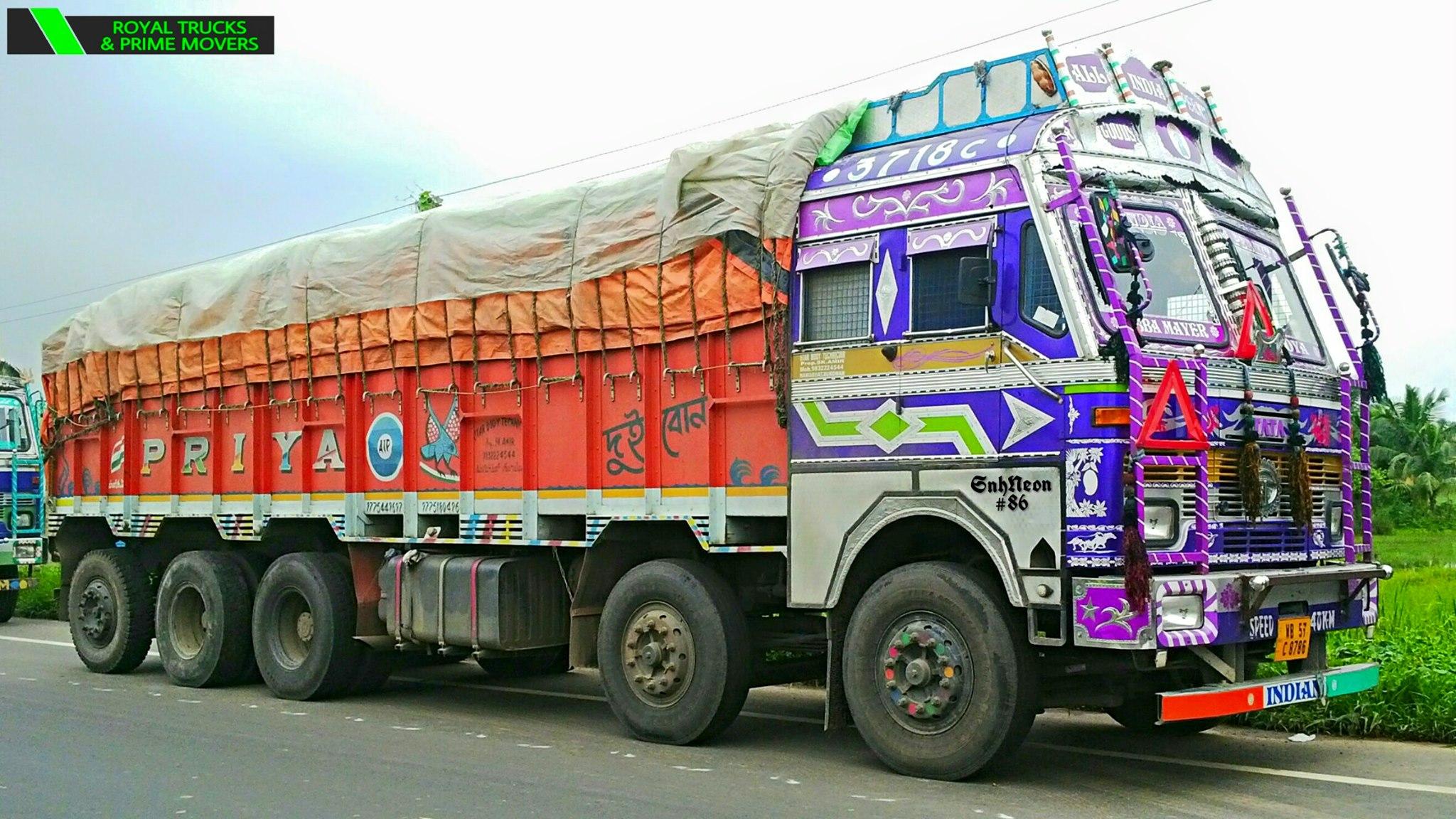 Tata-3718c-CHAMPADANGA-DANKUNI-ROAD--HOOGHLY--WEST-BENGAL--INDIA