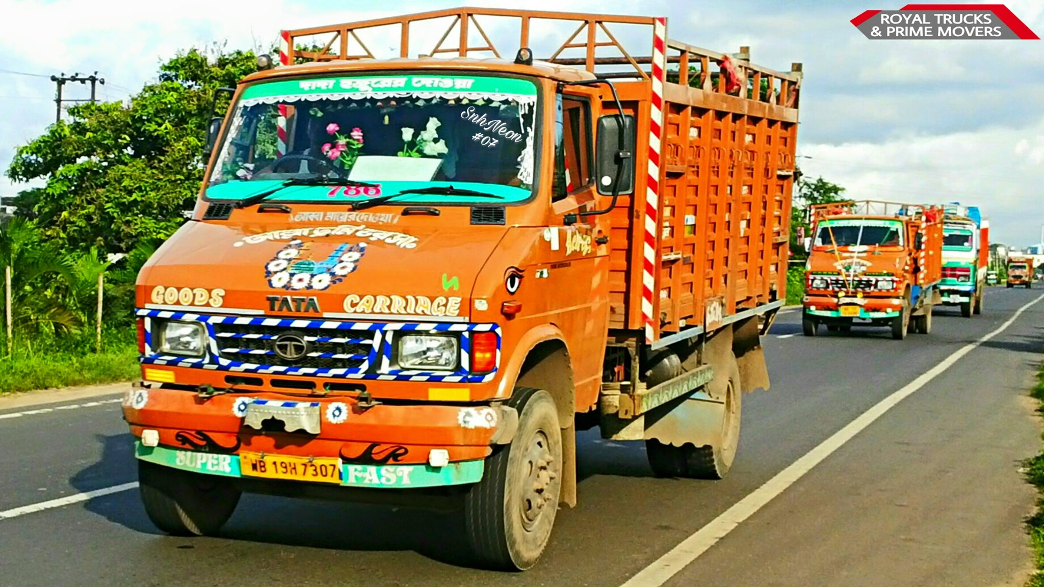 Tata-SFC-709-CHAMPADANGA-DANKUNI-ROAD--HOOGHLY--WEST-BENGAL--INDIA