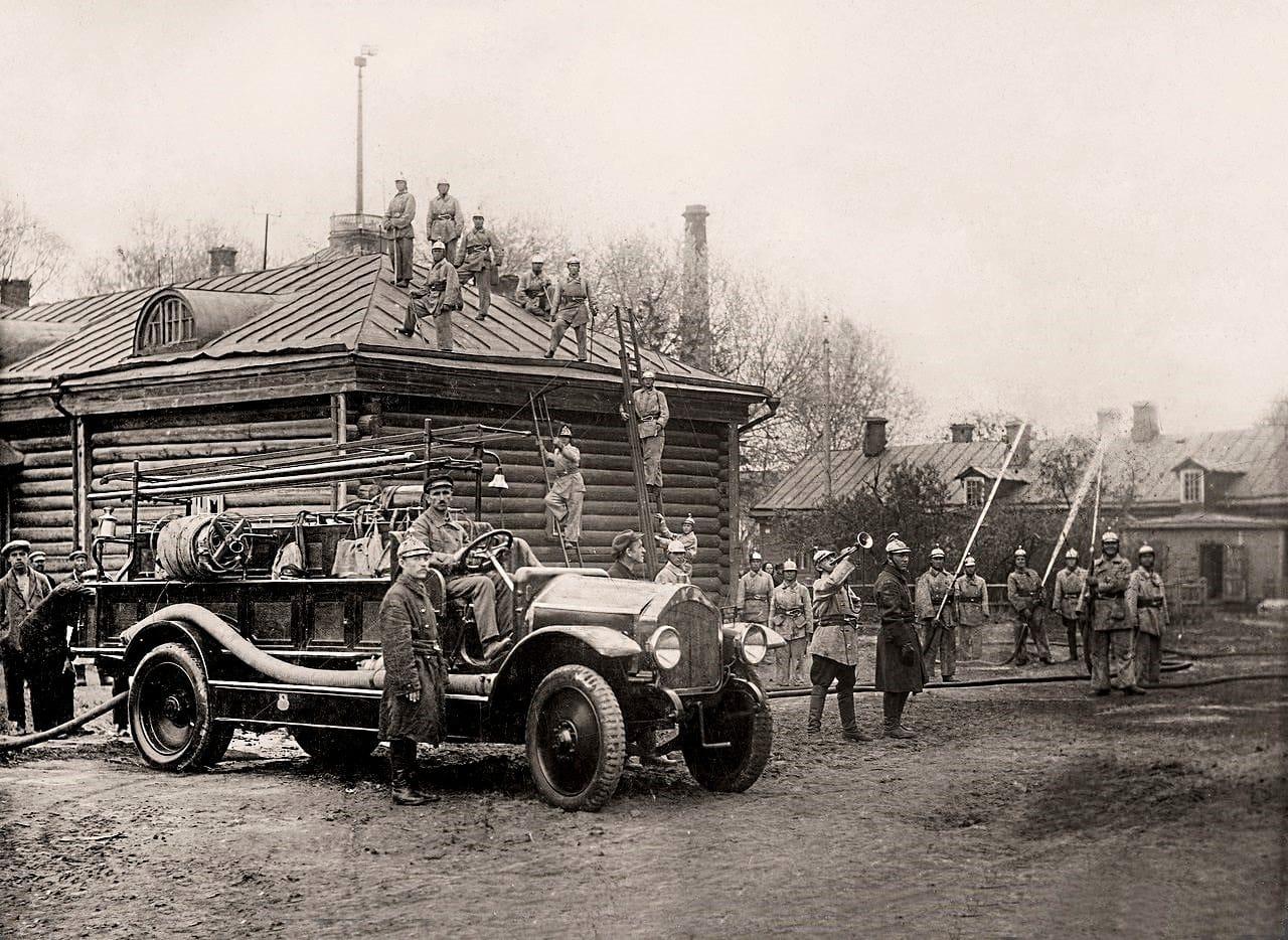 Oefening-Brandweer-1921--Hoensbroek