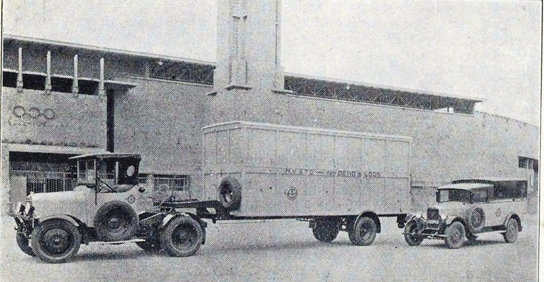 Van-Gend--Loos-met-groot--en-materieel--1930-Hoensbroek