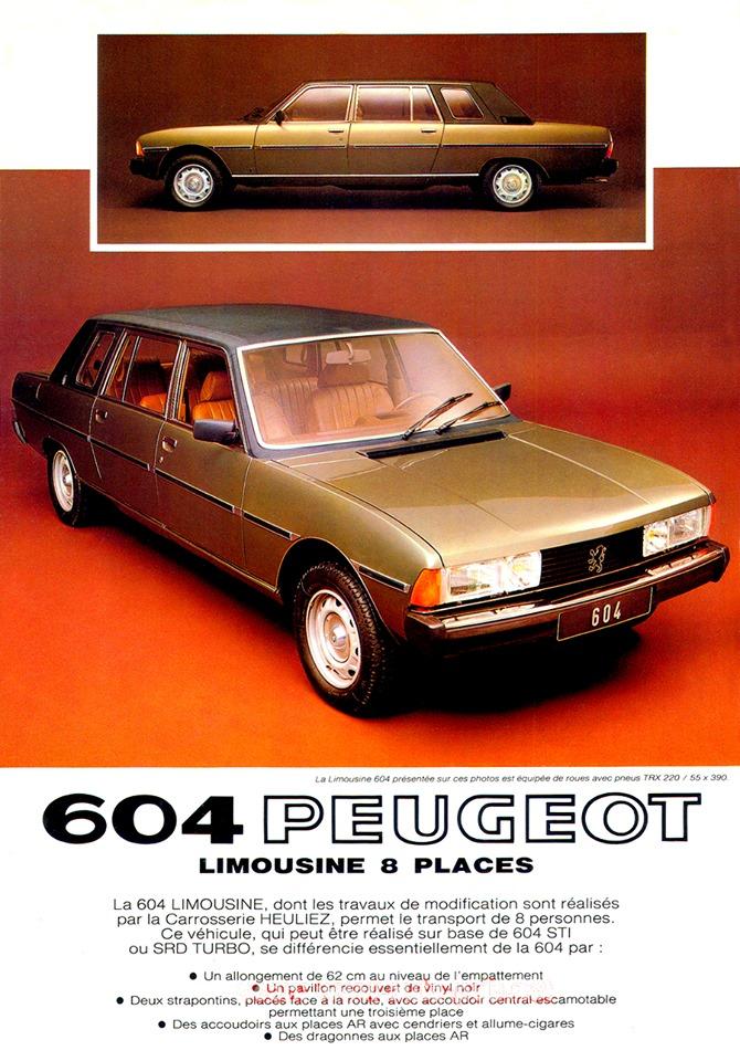 Peugeot-604-Limousine-Advert