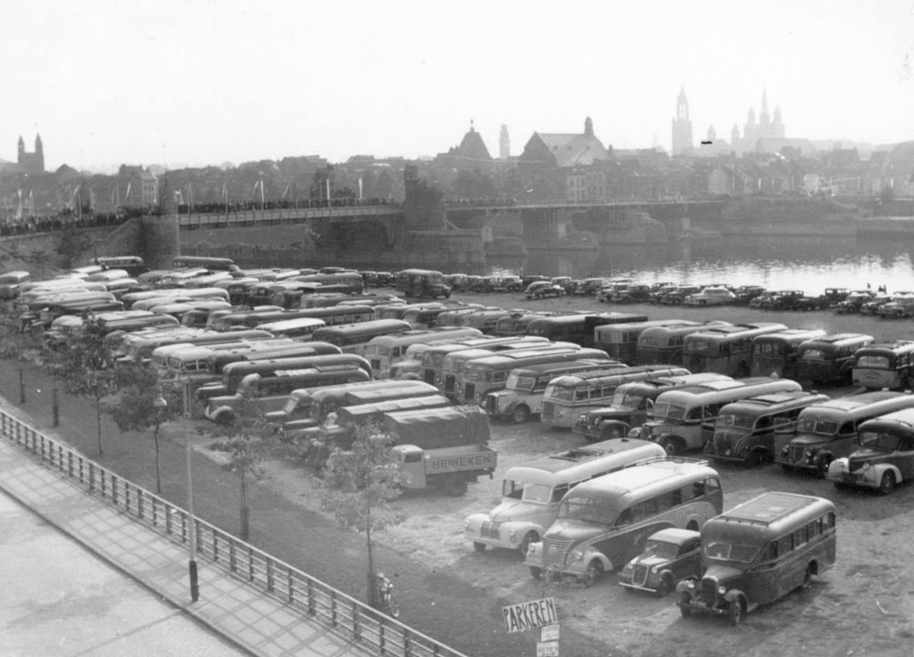 7-9-1947-Griend-parkeerplaats