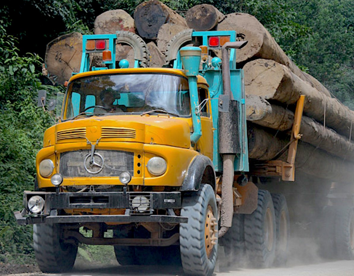 Mercedes-Benz-2624-6X4-logging-truck-1980