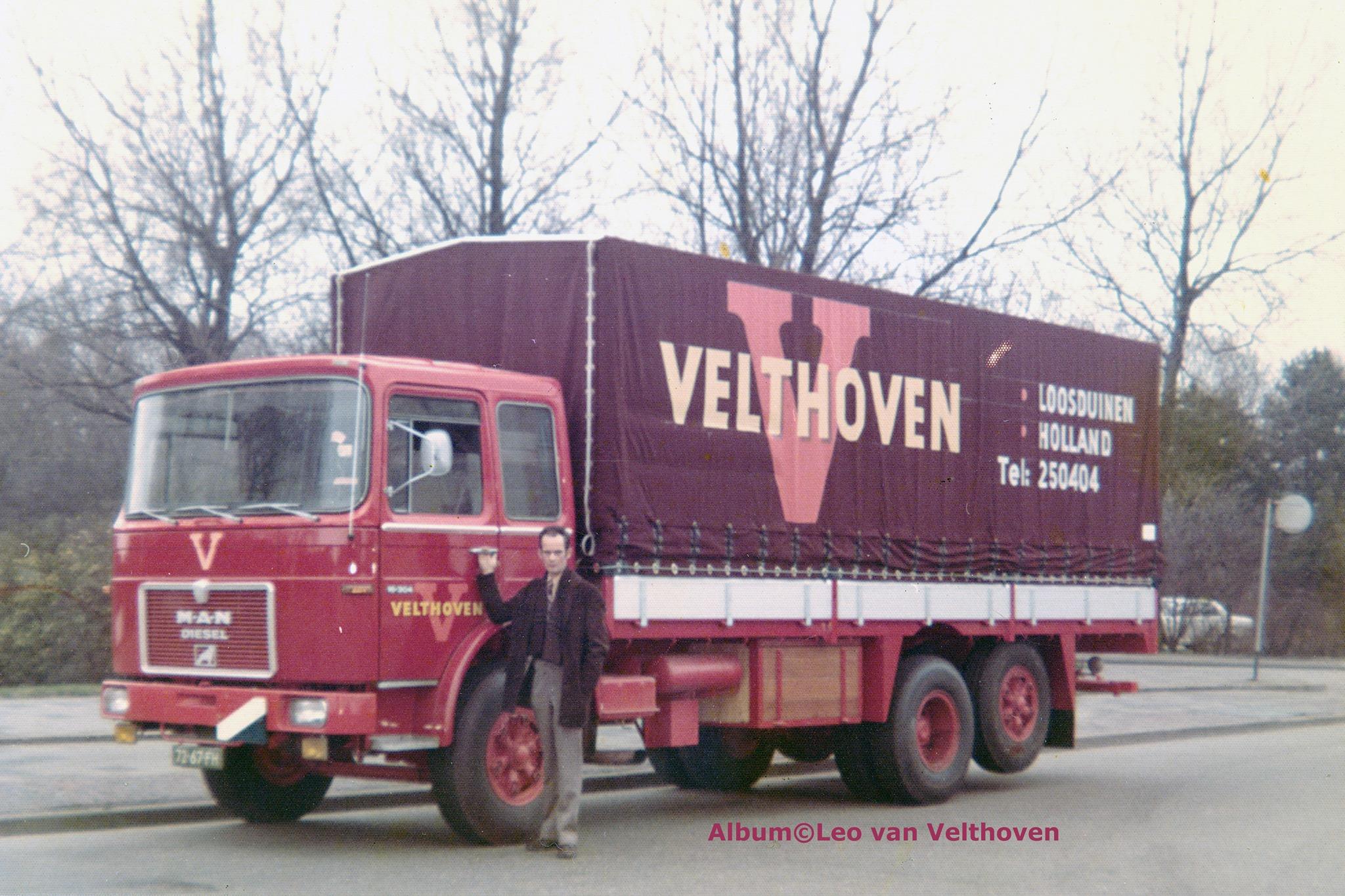 1974-Leo-van-Velthoven-RIP--wagen-met-nieuwe-reclame