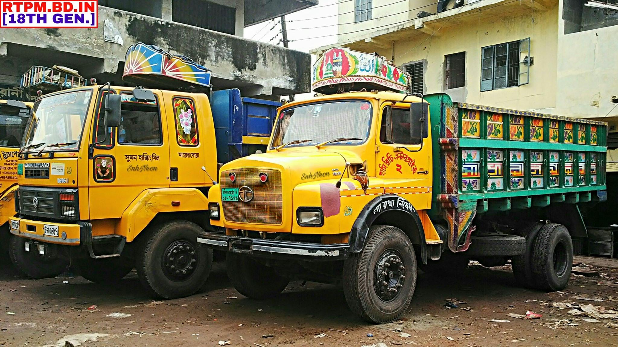 Ashok-Leyland-1616-IL--Tata-SE-1613-Dhaka-Registered