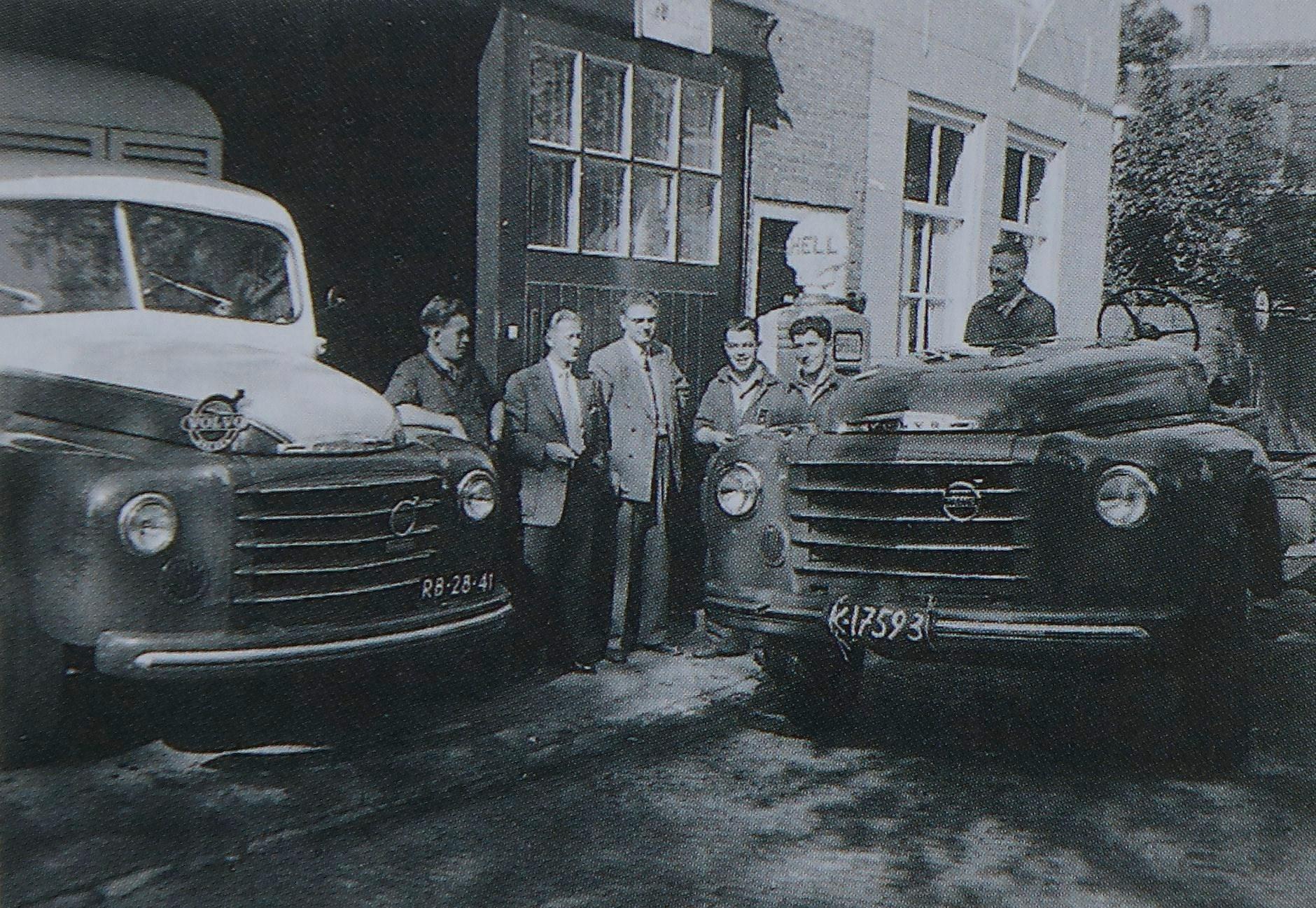 Veere-jaren-50-Poppe-Volvo-Dealer