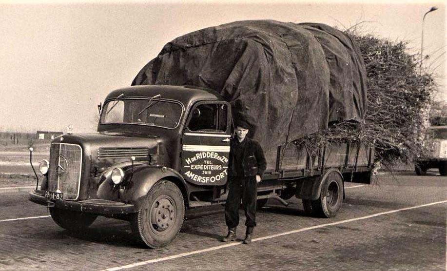 Mercedes-met-takken--Ap-Poot-archief