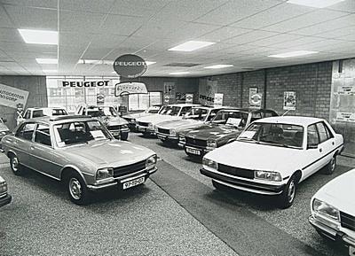 Peugeot-garage