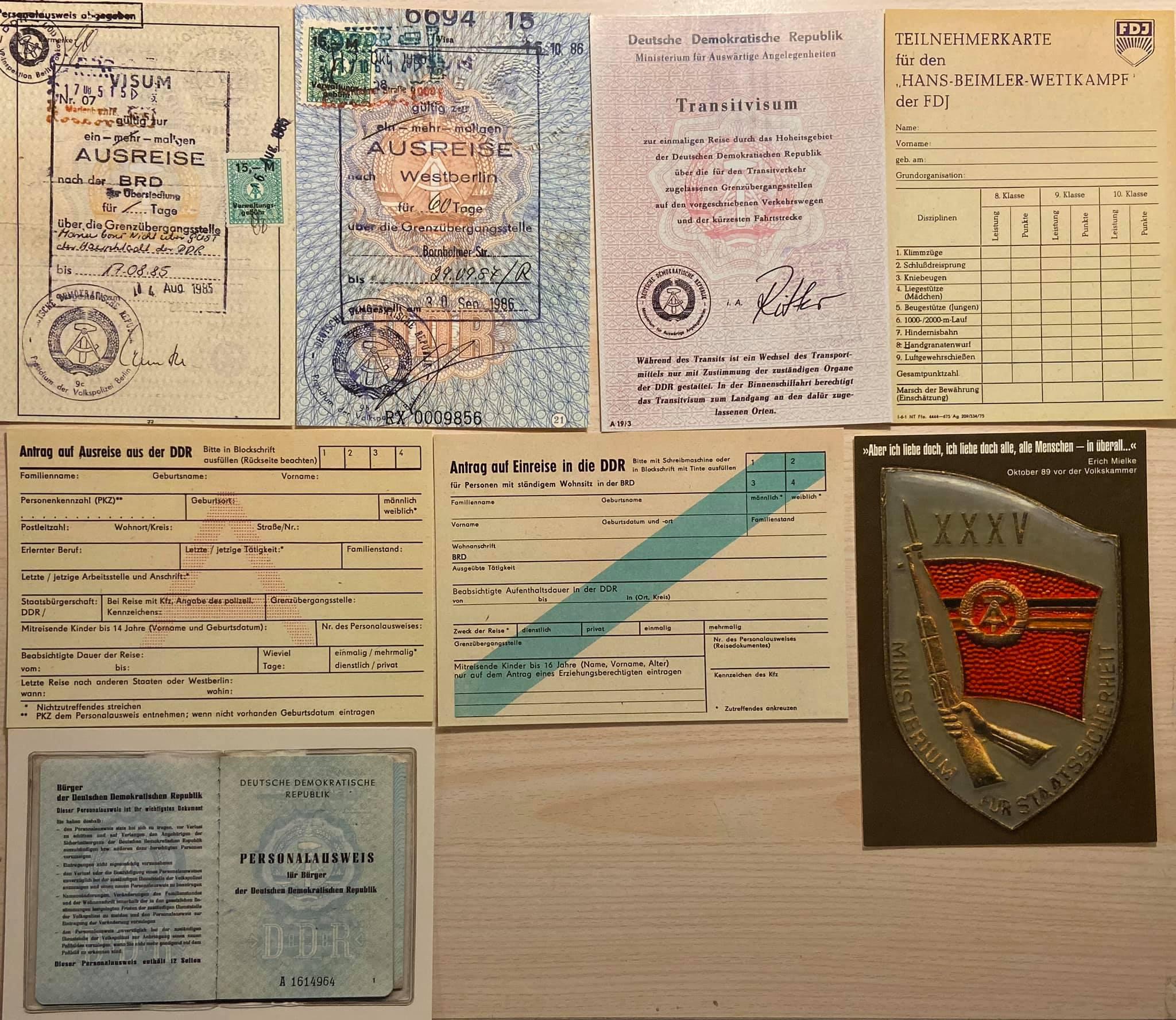 DDR-Visum