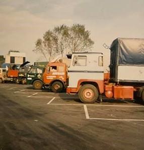 Scania-141-V8-aan-spaanse-grens