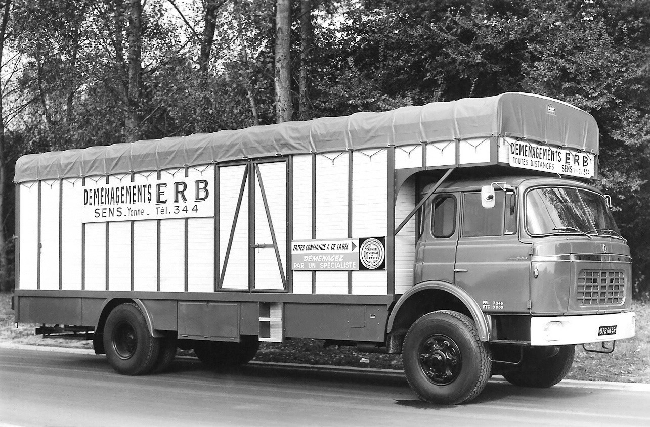 Berliet-Verhuiswagen