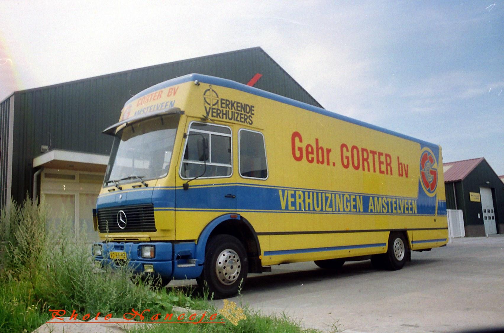Mercedes-verhuiswagen
