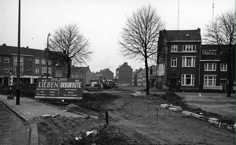 Reconstructie-Orleansstraat--Brusselseweg-1960