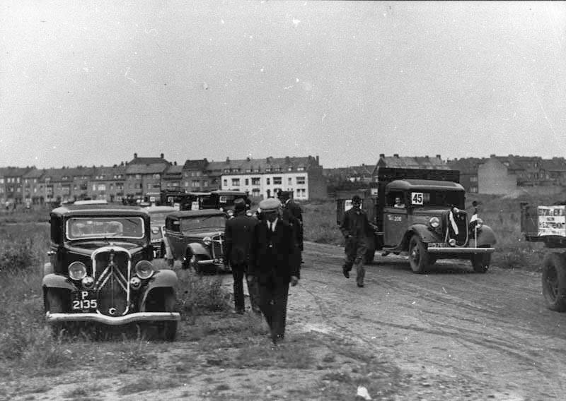 1937--Heerderweg--IJzer--en-metaalhandel-H-E--Dotremont--Opening-nieuw-bedrijfsterrein