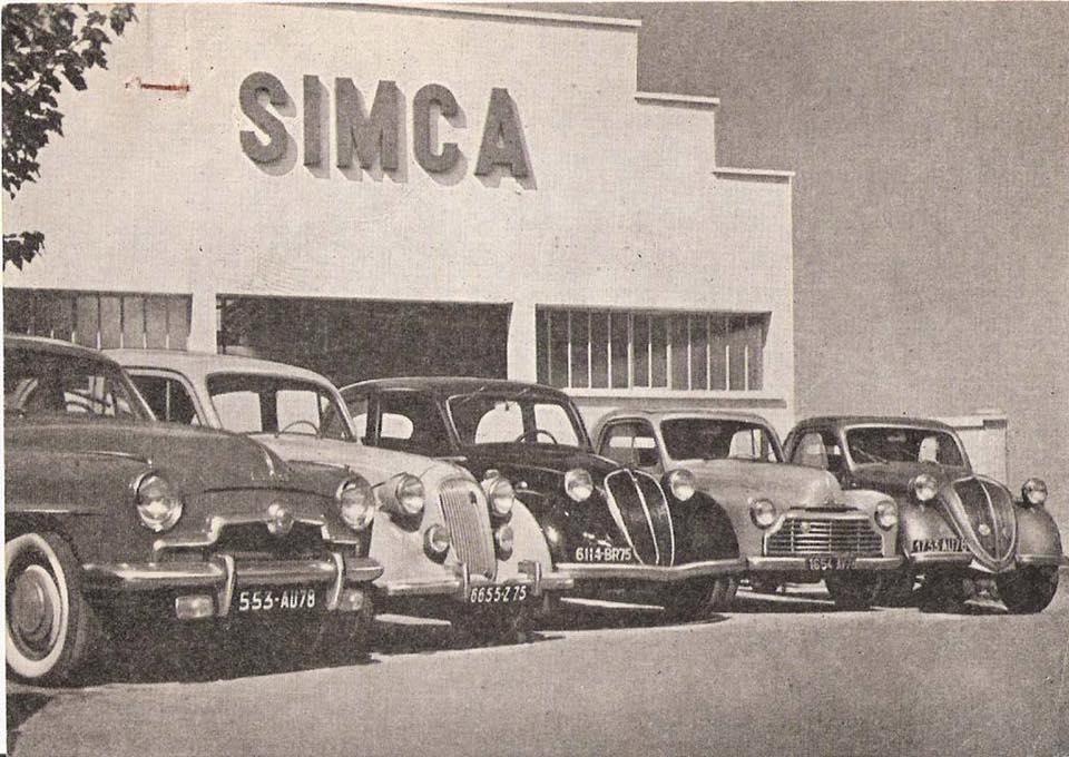 Simca-historie