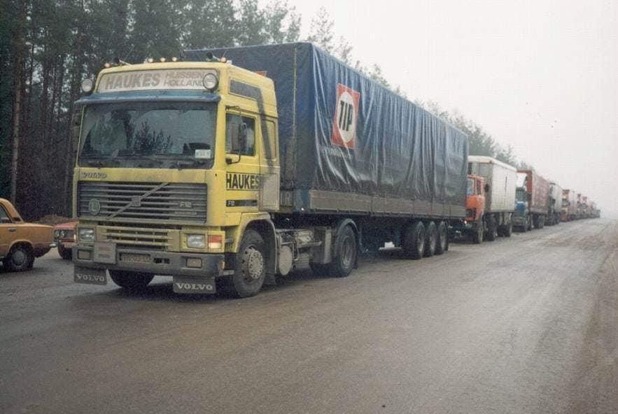 Volvo-303-John-Kreting-1994-grens-Grodno-naar-Rusland-1