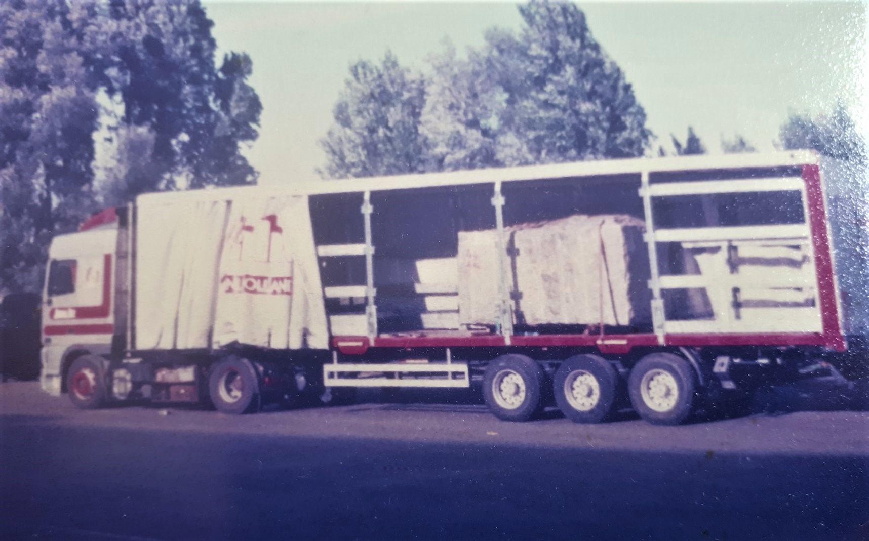 jans--Steentje-laden-van-20-ton.-Jan-van-Leendert-foto