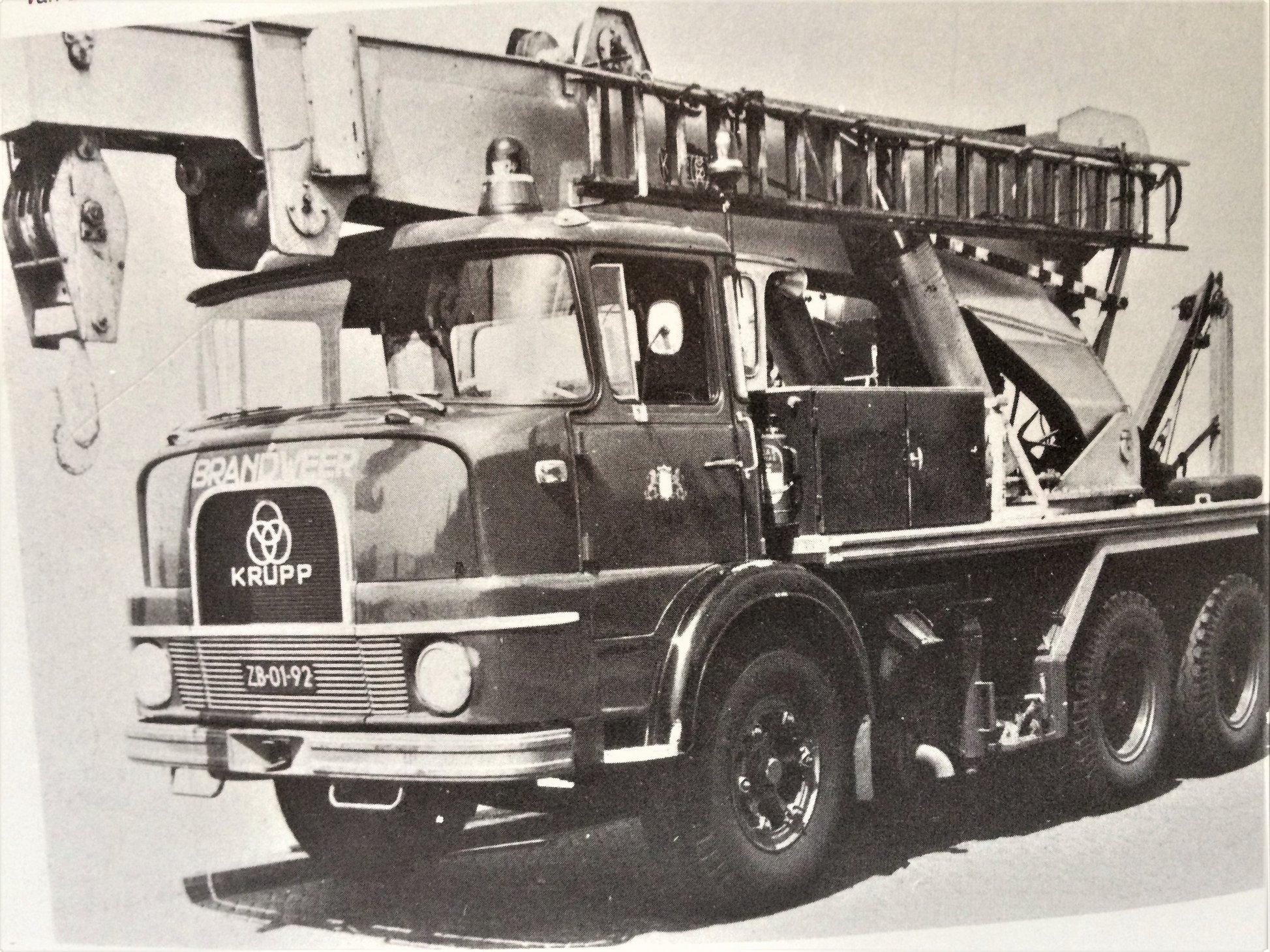 Krupp-bergingsauto-van-de-Haagse-Brandweer