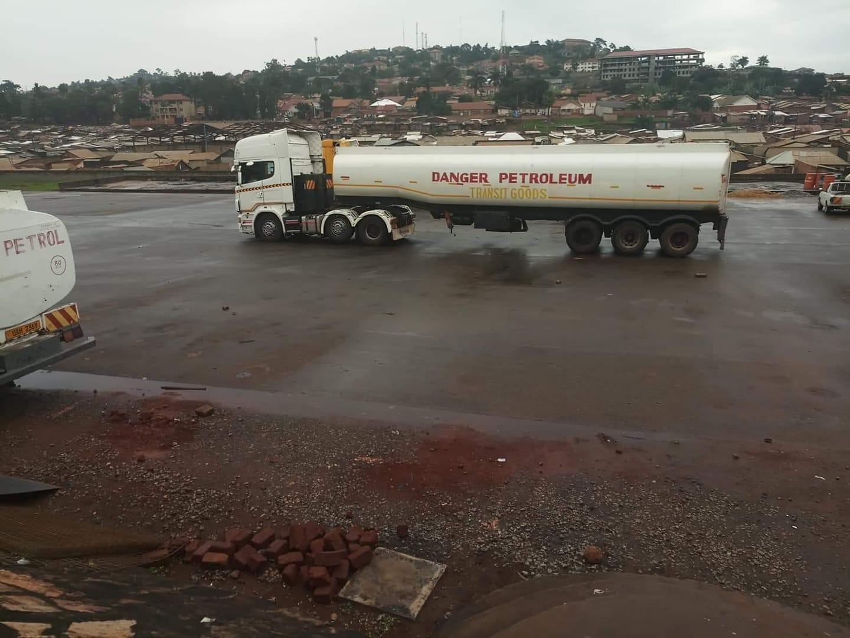 Scania-tanker