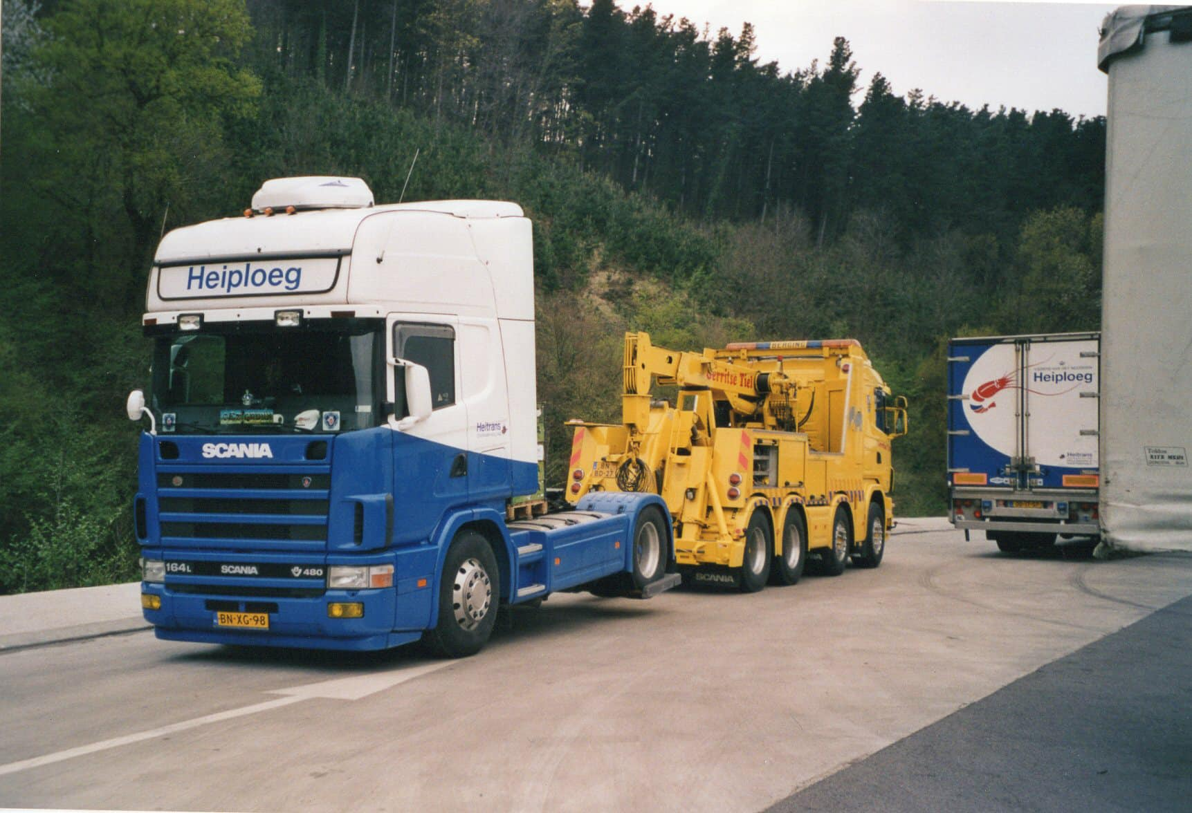 Motor-pech-Hendrik-Westra-foto