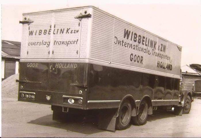 Scania-kastenwagen