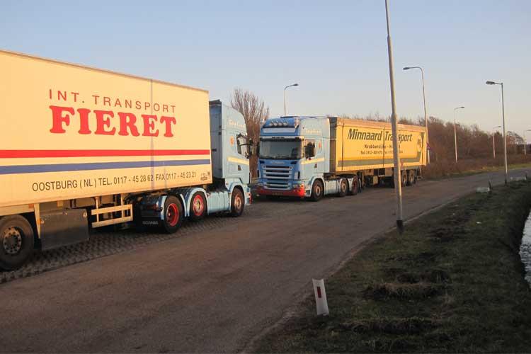 Scania-met-oplegger