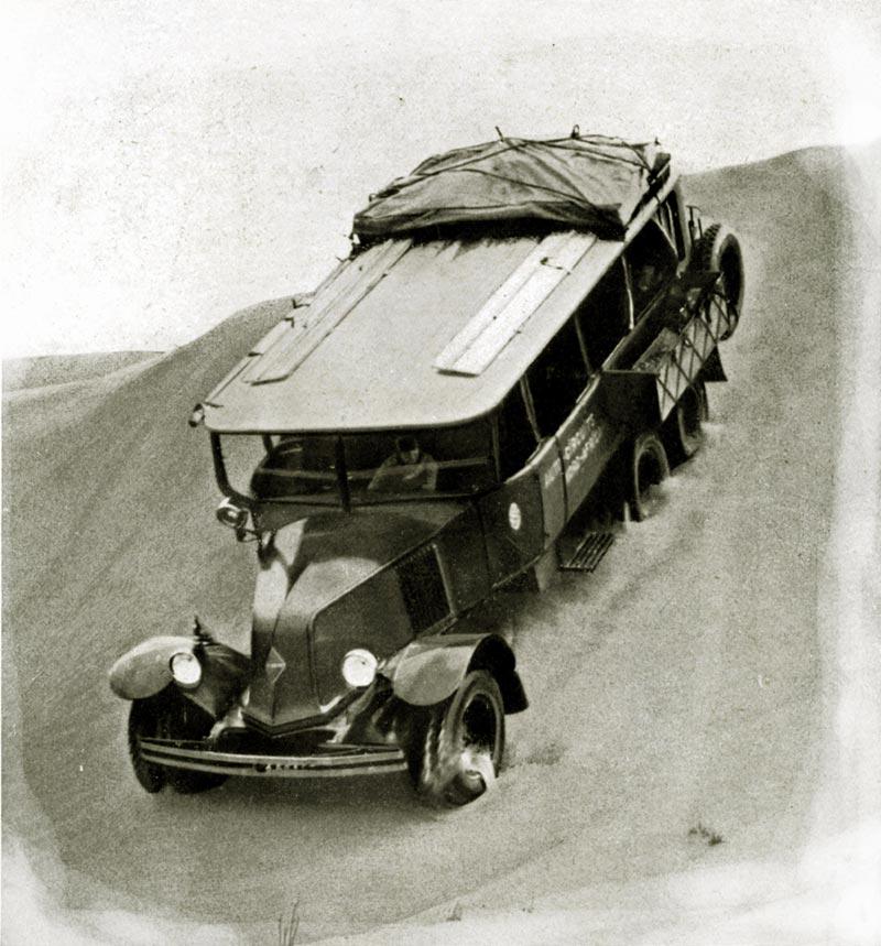 Reanult-Gazelle--6X4--1928