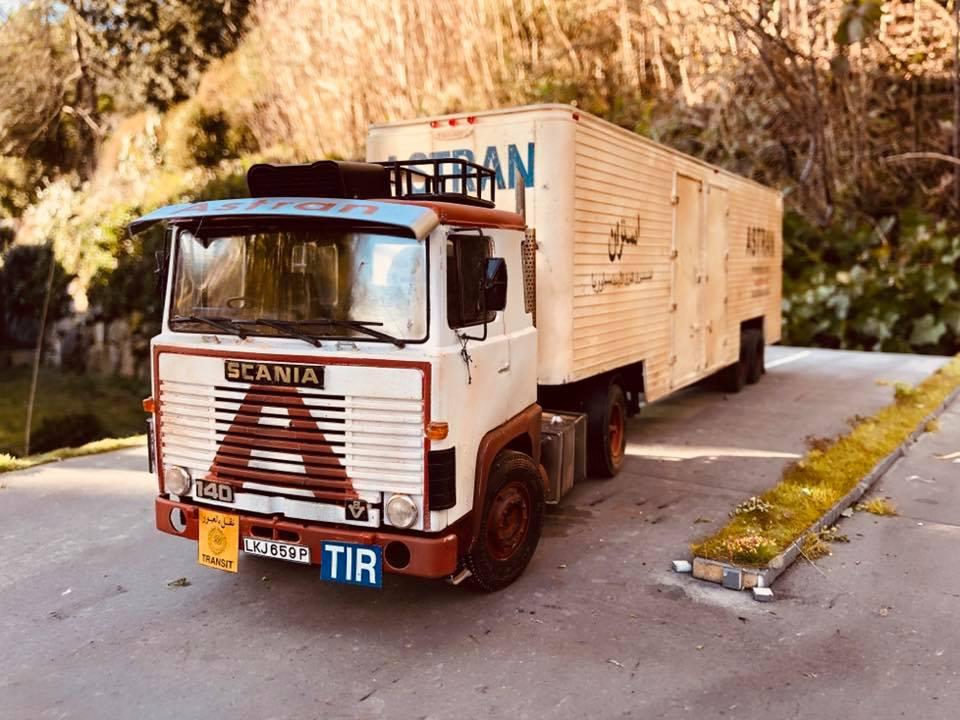 Modellbau-Truck-Scania-V8