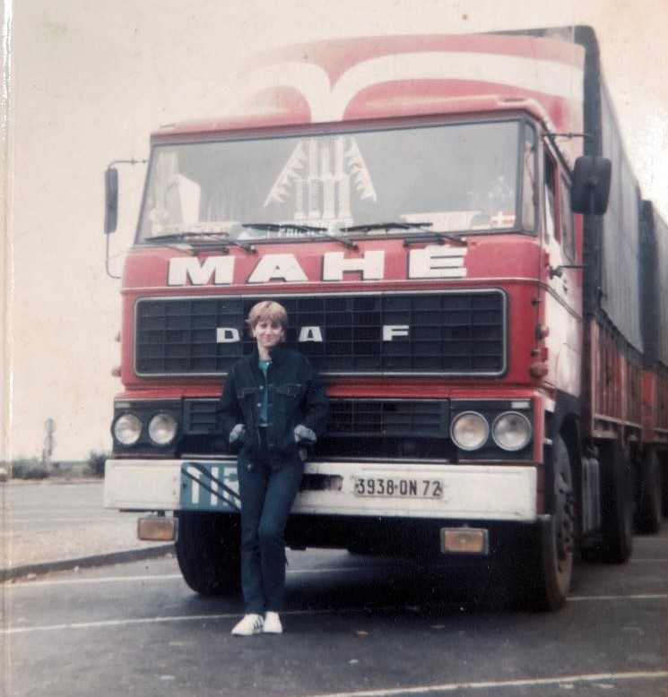 Philippe-Favrole--1982-in-duistalnd-met-echtegenote