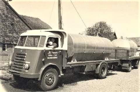 DAF-Melkophaal-wagen