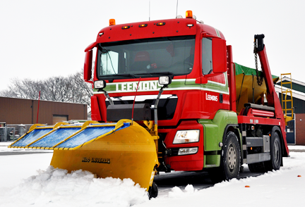 MAN-Sneeuw-veegwagen