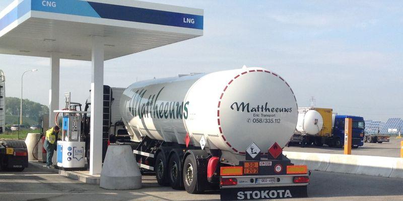 LNG-truck