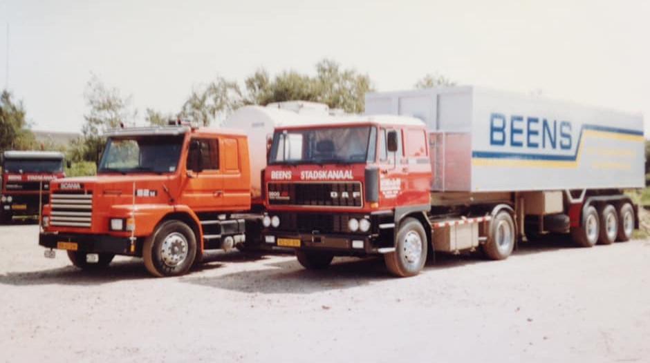 Daf--Scania-op-de-parking-