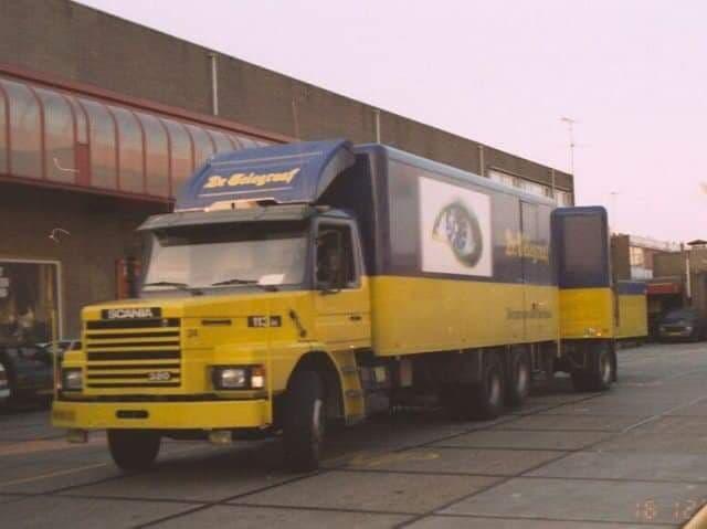 Scania-race-wagen